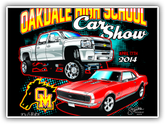 Oakdale High car show 2014-1