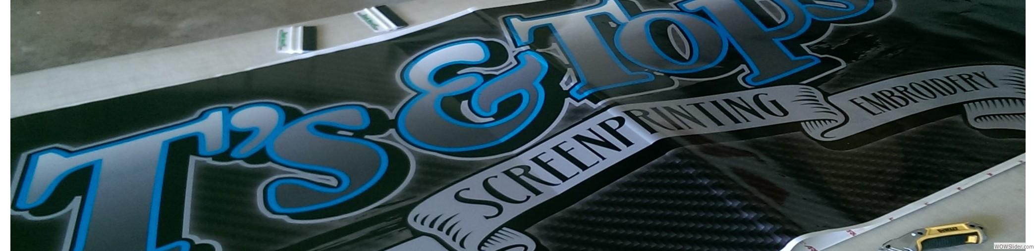 Home - T's & Tops - Modesto CA - Screen Printing